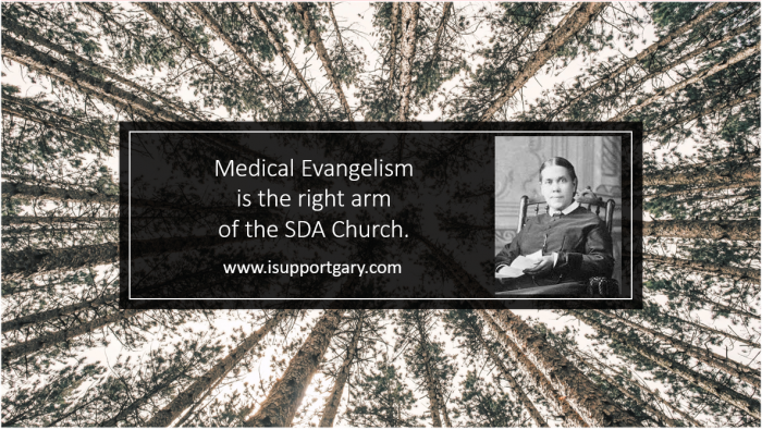 Medical Evangelism Right Arm Of The Church