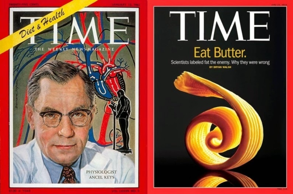 Time Magazine Eat Butter Ancel Keys