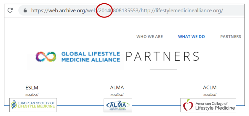 2014 Global Lifestyle Medicine Alliance Website Eslm Alma Aclm
