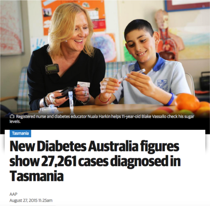 Tas Diabetes Figures