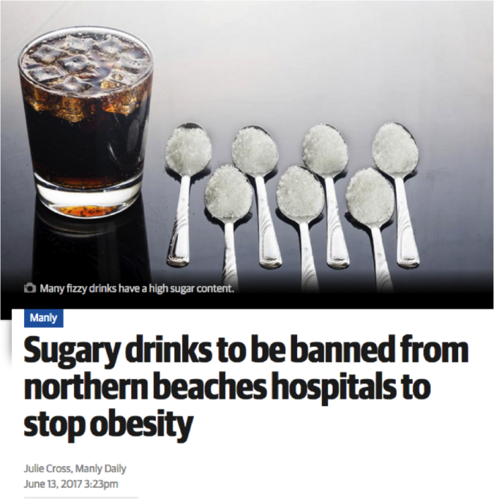 Northern Beaches Ban Sugar